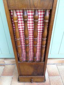 Ancienne Huche / coffre à pain rustique 60's