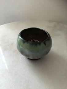 Pot en céramique émaillée de Thulin Art Nouveau