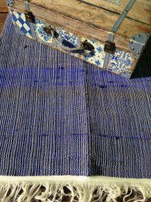 tapis bleu du Rajasthan