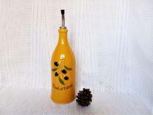 huilier céramique / Bouteille à huile d'olive / Décor table.