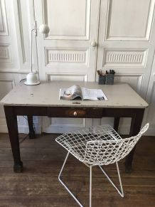 Table bureau bois massif