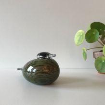 Oiseau en verre design signé du designer Finlandais  Toikka