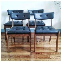 Série de 4 chaises VANSON par Peter Hayward