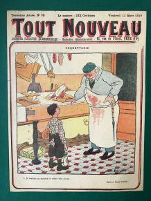 Tableau vintage humour - couverture TOUT NOUVEAU