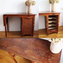 Superbe bureau vintage années 50
