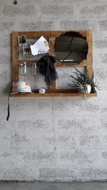 Meuble miroir mural