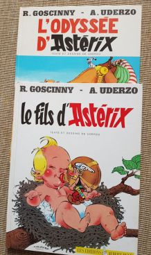 Détails sur  lot de 7 BD asterix et obélix 1968 à 1983