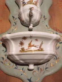 fontaine en porcelaine du berry (Bruère)