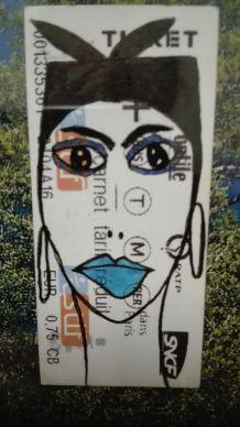 Portrait Ticket  #20