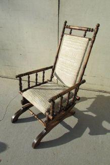 Chaise berceuse , fauteuil à bascule