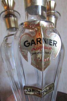 Flacon triptyque de Garnier des années 50