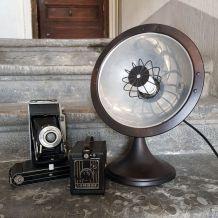 Radiateur vintage revisité en lampe