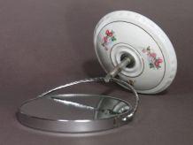 Petit Miroir Grossissant sur Pied - vintage