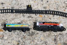 Lot train Trenex Spain ibertren ref 5001 avec rails. Union P