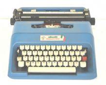 Machine à écrire LETTREA 35 pour Olivetti