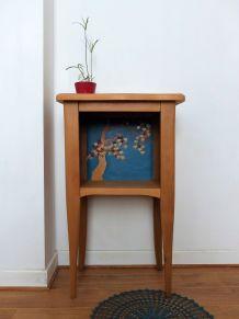 Petit meuble en bois/tableau