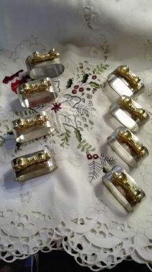 8 ronds de serviette napkin rings