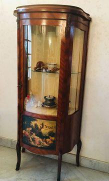 meuble vitrine de style empire
