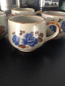 6 tasses vintage