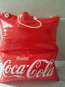 Sac oreiller de plage gonflable Coca Cola
