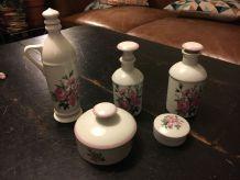 Ensemble en porcelaine d'Auteuil