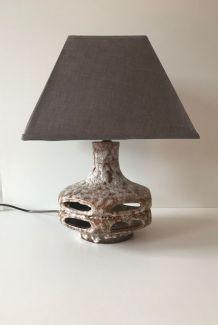 Lampe en céramique West Germany