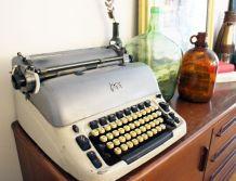 Grosse machine à écrire vintage Japy - RARE