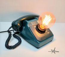 """Lampe industrielle, Lampe vintage - """"Décroche !"""""""