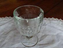 Coupe ou verre à facettes