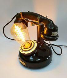 """Lampe industrielle, lampe vintage - """"Longue Distance"""""""