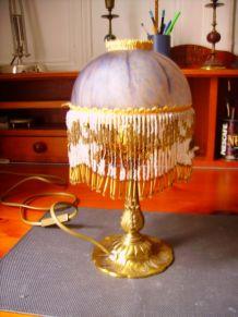 Lampe de chevet pâte de verre signée Vianne