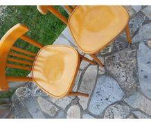 Chaises bistrots Signées BAUMANN