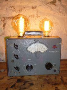 """LAMPE VINTAGE """" LE GENERATEUR """""""