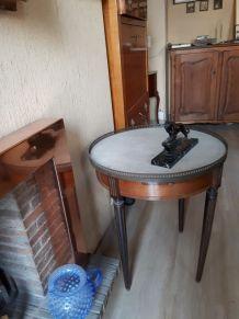 Petite table bouillotte
