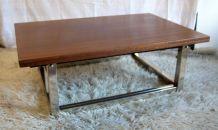 Table basse relevable et extensible – fin 70's