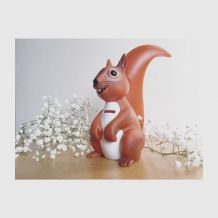 Tirelire écureuil Publicité Caisse d'Epargne