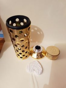 Etui doré pour recharge parfum