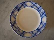 Lot de 6 assiettes céramique de Sarreguemines