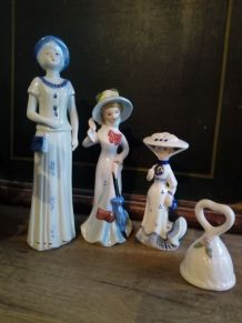 3 figurines dames