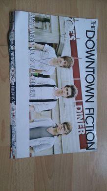 """Affiche de concert et promotion EP de """"The Downtown Fiction"""""""