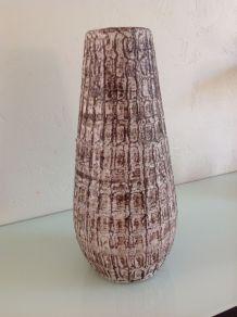 Vase conique vintage en céramique