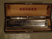 Harmonica Hohner N° 280 Professional model 4 chromatic octav