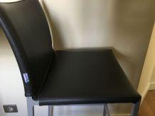 Paire de chaises hautes de bar Zanotta