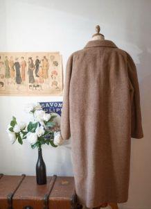 Magnifique manteau vintage made in France