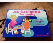 Jeu électrique Fernand Nathan