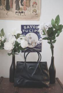 Magnifique sac Tods en cuir