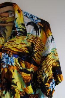 Chemise vintage Hawaïenne années 90