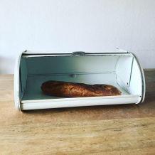 Huche à pain boîte de rangement pain en métal