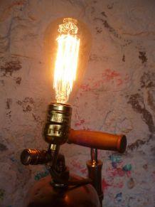 """LAMPE VINTAGE - LAMPE D'AMBIANCE - """" LE PULVERISATEUR """""""