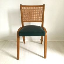 "Chaise ""Bow Wood"" vintage 1950's"